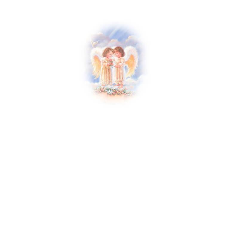 Картинка Ангелочки к стихотворению Как трепетно душа ждёт воплощения