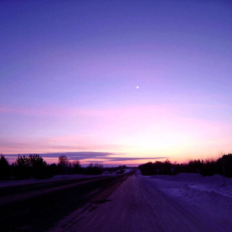 Фото дорога на Алтай - к стихотворению Я за все благодарна