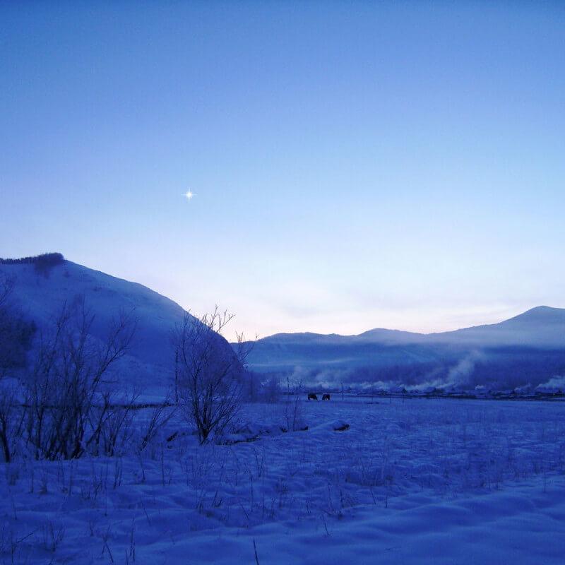 Фото для стихотворения Звезда Утра - Тюнгур-зима-ночь