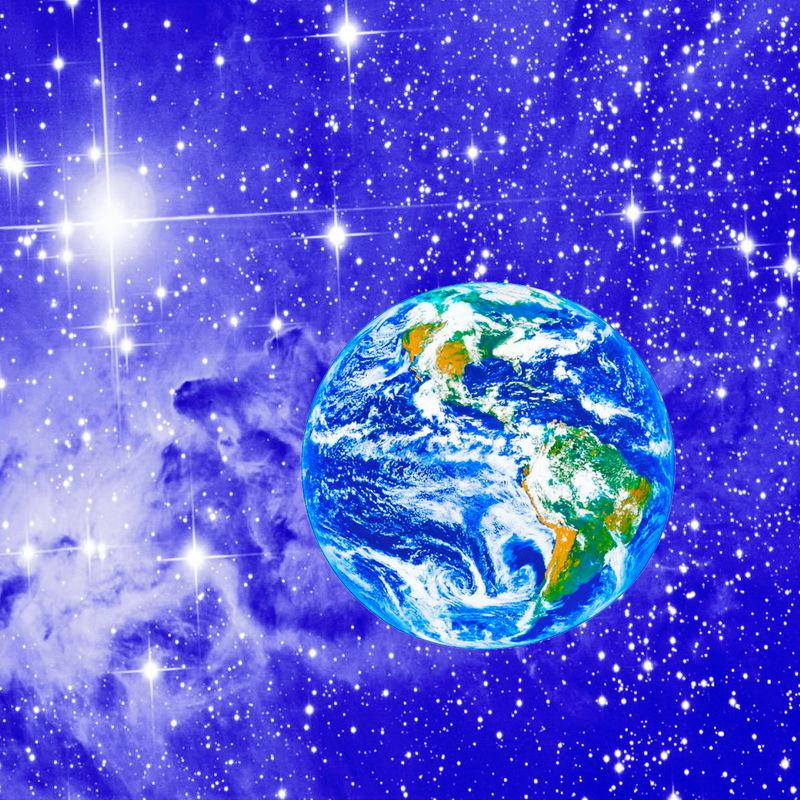 А Земля голубая планета