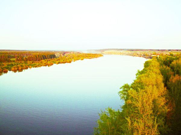 Кама река - фотография