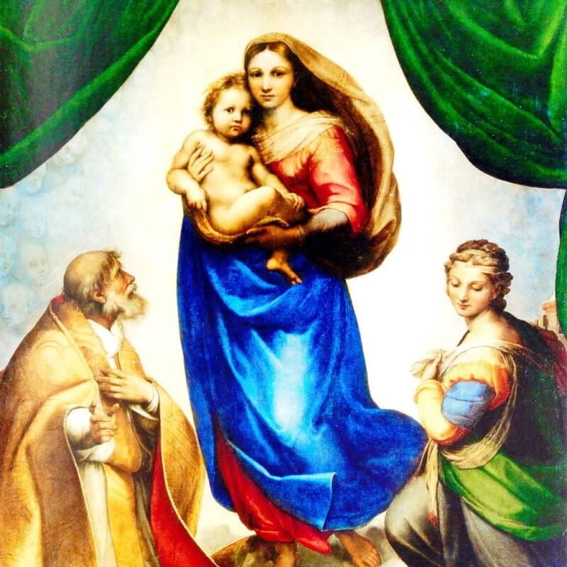 Святая Материнская Любовь - Raffaello Sanzio da Urbino