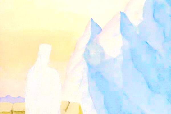 Твоя рука ведёт - фото картины Абрамова